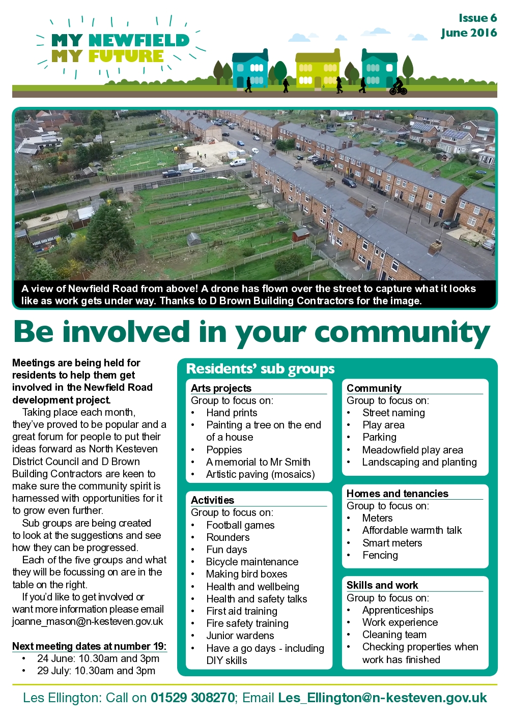 newfield newsletter june 2016 page 1